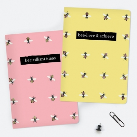 Pink-Bee-A5-Exercise-Books-Pack-of-2