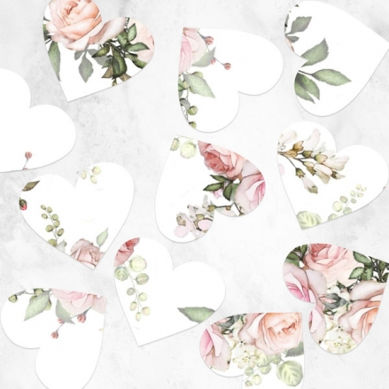 pink-roses-greenery-heart-table-confetti