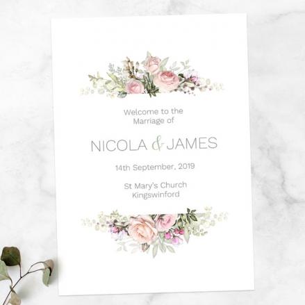 pink-roses-greenery-wedding-order-of-service