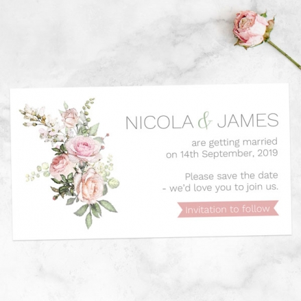 pink-roses-greenery-save-the-date-magnets