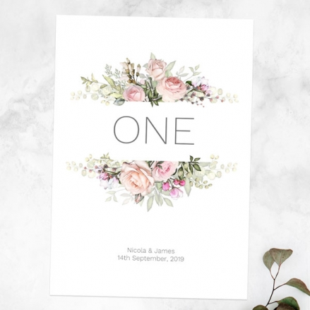 pink-roses-greenery-table-name-number