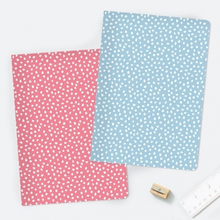 Pinking Out Loud - A5 Exercise Books - Pack of 2