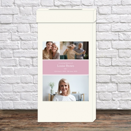 Funeral-Post-Box-Female-Modern-Photo-Collage