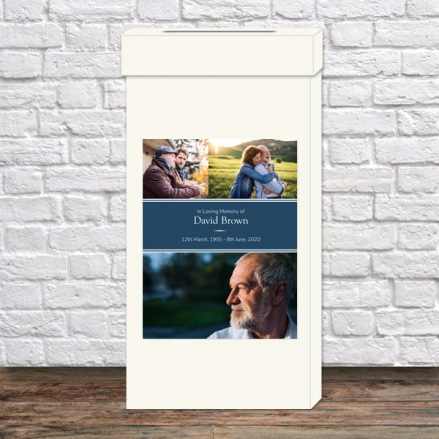 Funeral-Post-Box-Male-Modern-Photo-Collage