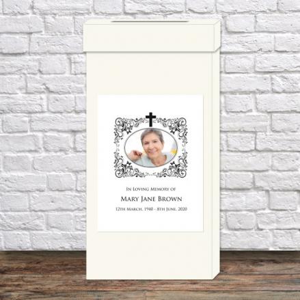 Funeral-Post-Box-Ornate-Scrolls-&-Butterflies