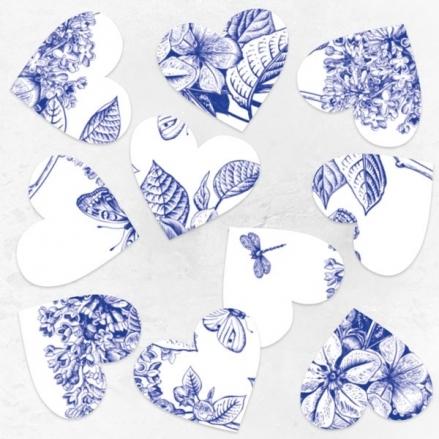 Royal Botanical - Heart Table Confetti