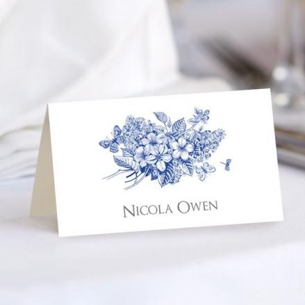 Royal Botanical - Wedding Place Cards