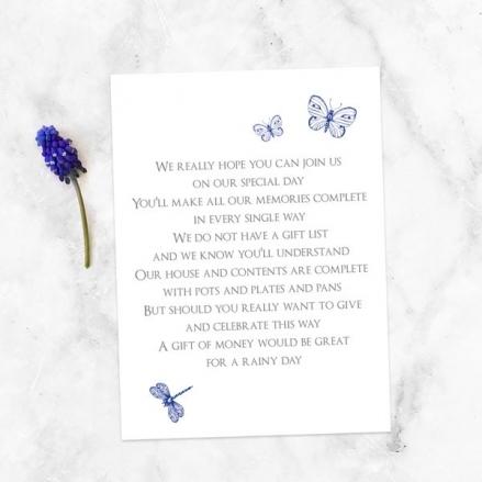 Royal Botanical - Gift Poem Cards