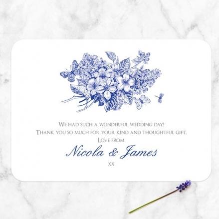 Royal Botanical - Wedding Thank You Cards
