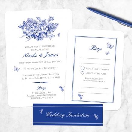 Royal Botanical - Boutique Wedding Invitation & RSVP