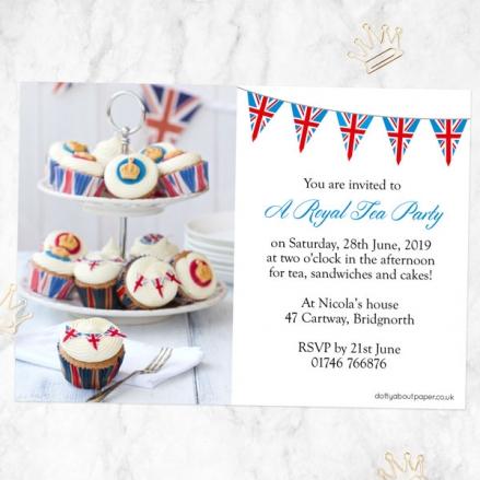 Tea Party Invitations - Royal Tea Party