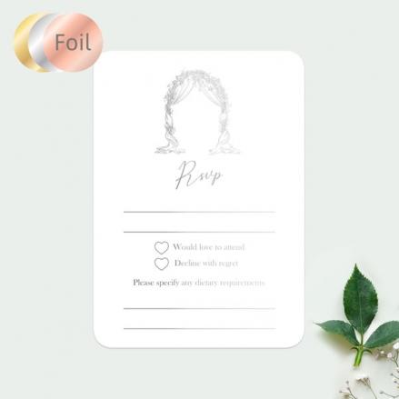 Floral-Wedding-Arch-Foil-Wedding-RSVP-Cards