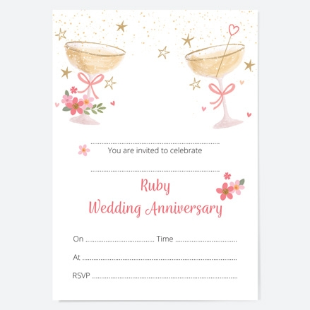 40th-wedding-anniversary-invitations-champagne-bubbles-thumbnail