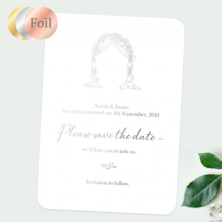 Floral-Wedding-Arch-Foil-Save-the-Date-Cards