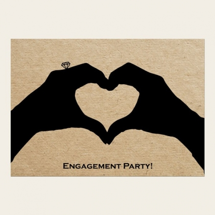Engagement Invitations - Hand in Marriage