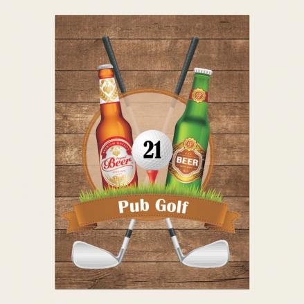 Pub Golf - Invitations