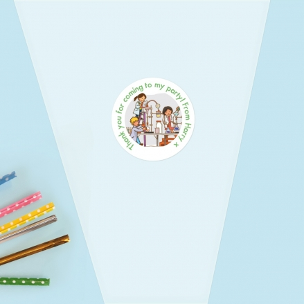 Science Party - Sweet Cone Bag & Sticker - Pack of 35
