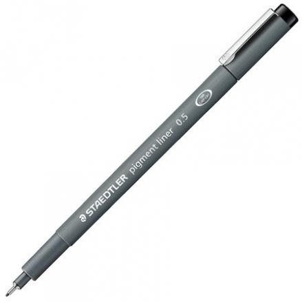staedtler-pigment-liner-pen-black
