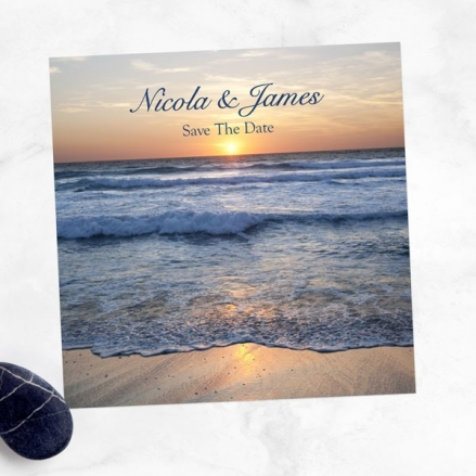Sea Sunset - Save the Date Cards