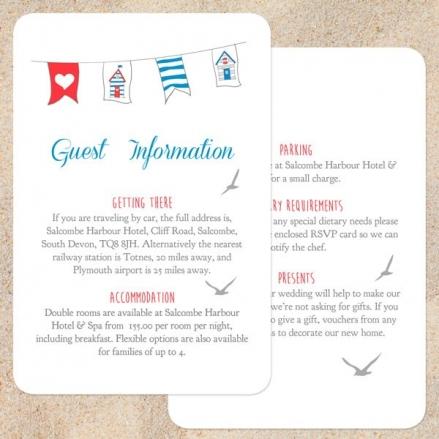 Seaside Beach Huts - Guest Information