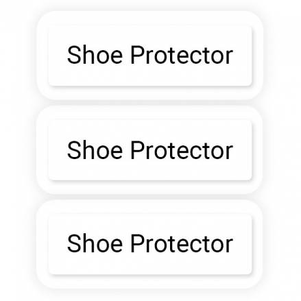 Clear Shoe Name Label Protectors - Pack of 35