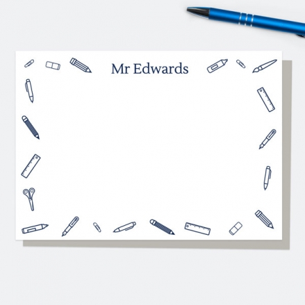 smart-stationery-blue-personalised-a6-note-card