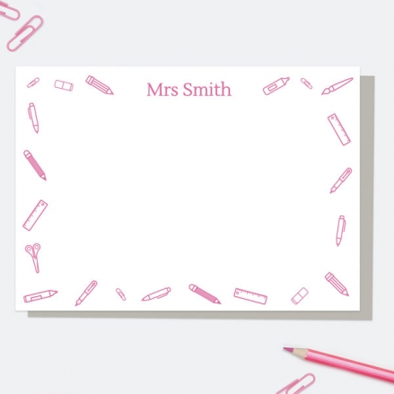 smart-stationery-pink-personalised-a6-note-card