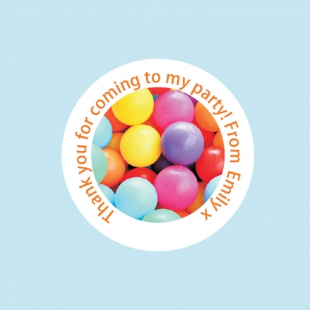 Soft Play Party - Sweet Cone Stickers - Pack of 35