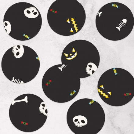Spooky Fun - Halloween Table Confetti