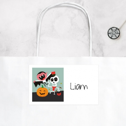 Spooky Fun - Halloween Party Bag & Sticker - Pack of 10