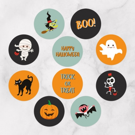 Spooky Fun - Halloween Stickers - Pack of 70