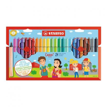 STABILO-Cappi-Colouring-Pens-Set-of-24