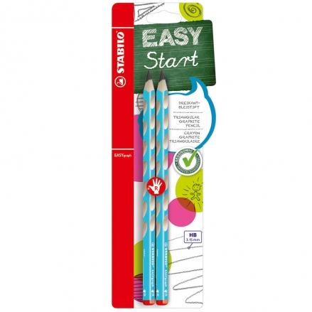 STABILO-EASYgraph-Handwriting-Pencil-Twin-Pack-Blue