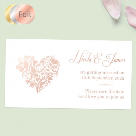 Ornate-Heart-Foil-Save-the-Date-Magnets