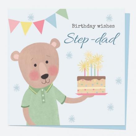 step-dad-birthday-card-dotty-bear-cake-birthday-wishes-step-dad