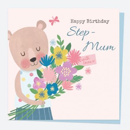 step-mum-birthday-card-dotty-bear-bouquet-happy-birthday-step-mum