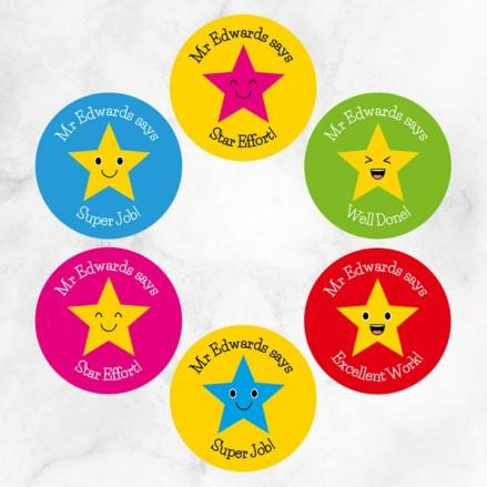 Superstars - Teacher Stickers - Pack of 48