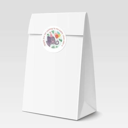 Jungle Animals - Sweet Bag & Sticker - Pack of 35