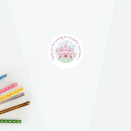 princess-castle-sweet-cone-bag-sticker-thumbnail