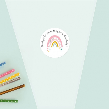 Chasing-Rainbows-Sweet-Cone-Bag-&-Sticker-Pack-of-35