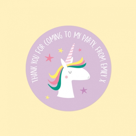 Unicorn-Magic-Sweet-Cone-Sticker-Pack-of-35
