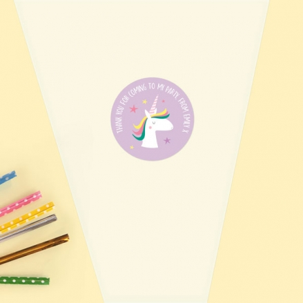 Unicorn-Magic-Sweet-Cone-Bag-&-Sticker-Pack-of-35