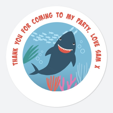 Shark Sweet Bag Stickers thumbnail