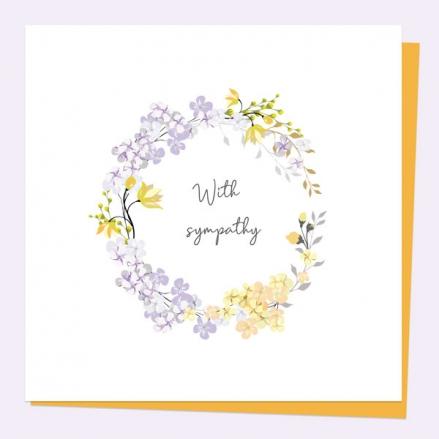 sympathy-card-yellow-lilac-wildflowers-with-sympathy
