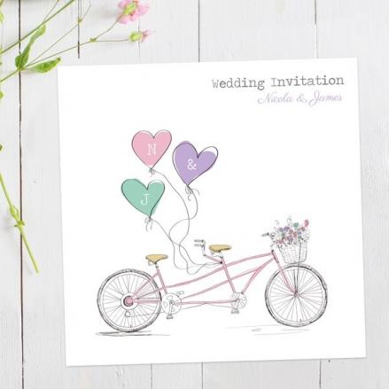 Tandem Love - Wedding Invitations