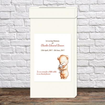 Funeral Post Box - Teddy & Bunny