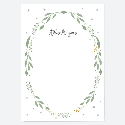Baby-Thank-You-Cards-Boys-Foliage-Wreath
