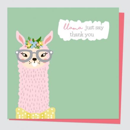 thank-you-card-llama-just-say