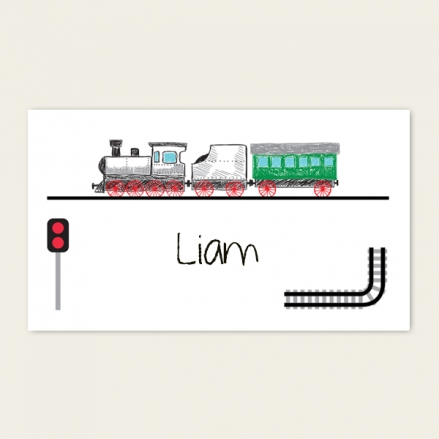 Railway Train Party - Party Sticker - Pack of 10