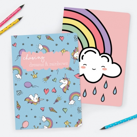 unicorn-dreams-exercise-books